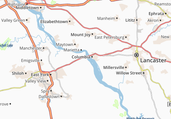 Mapas-Planos Wrightsville