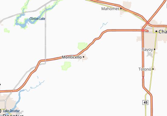 Mappe-Piantine Monticello