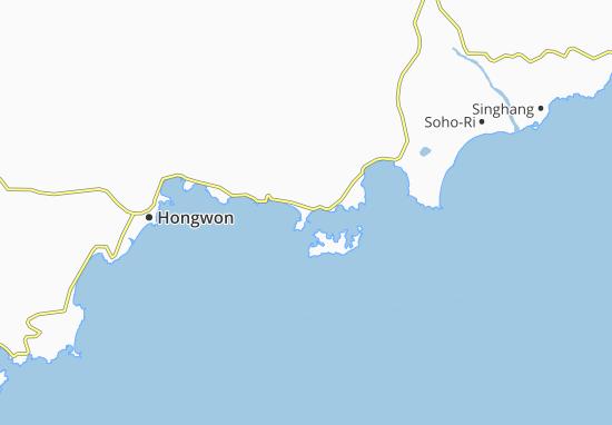 Mapas-Planos Yuktae-Dong