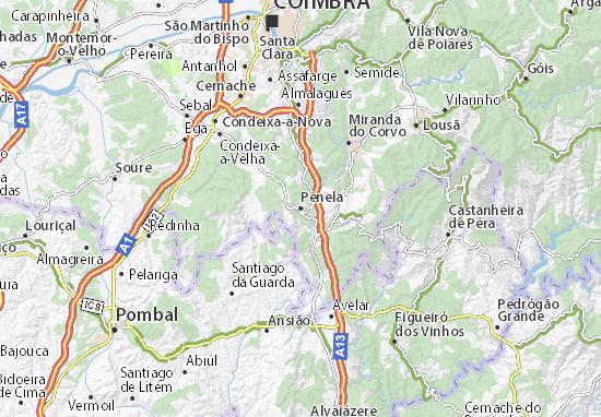 Penela Map