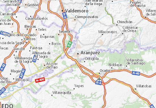 Mapas-Planos Aranjuez