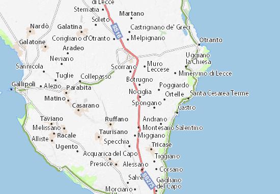 Mappe-Piantine Nociglia