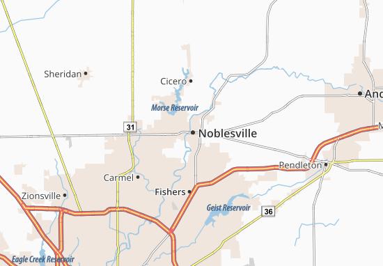 Noblesville Map