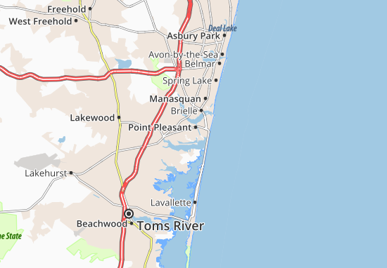 Point Pleasant Map