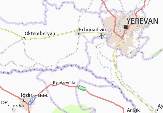 Carte-Plan Nizhniy Khatunarkh