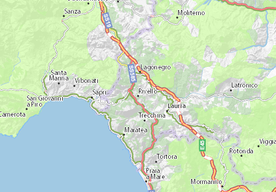 Rivello Map