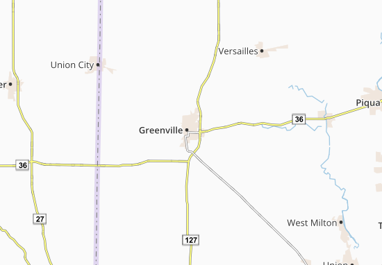 Carte-Plan Greenville