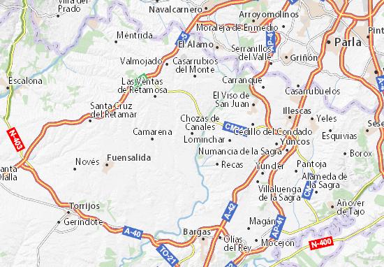 Mapas-Planos Chozas de Canales
