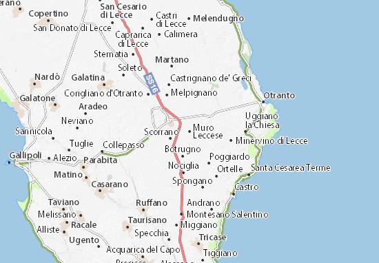 Mappe-Piantine Muro Leccese