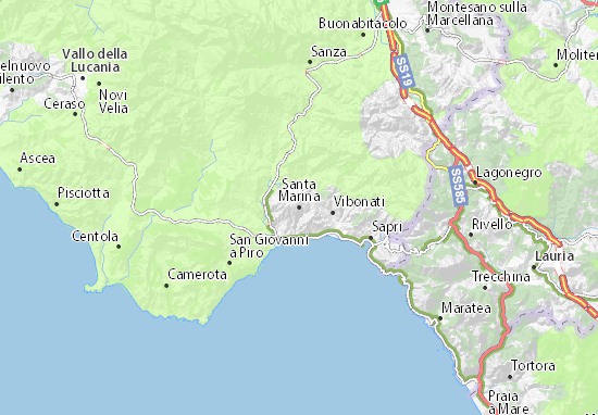 Mappe-Piantine Santa Marina