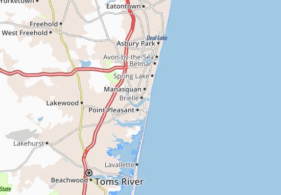 Brielle Map