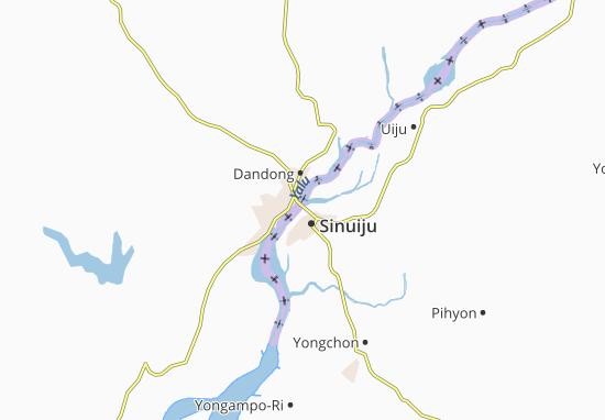 Mappe-Piantine Dandong