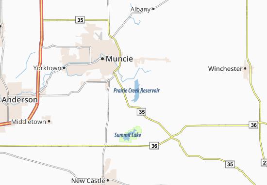 New Burlington Map