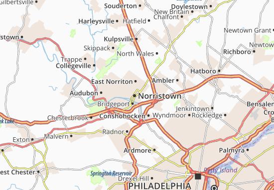 Carte-Plan Norristown