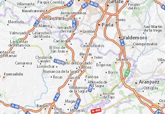 Mapas-Planos Illescas