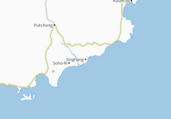 Kaart Plattegrond Singhang