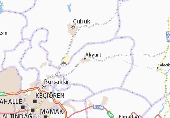 Mappe-Piantine Akyurt