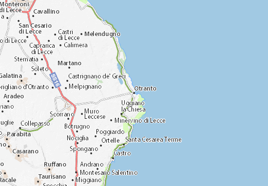 Otranto Map
