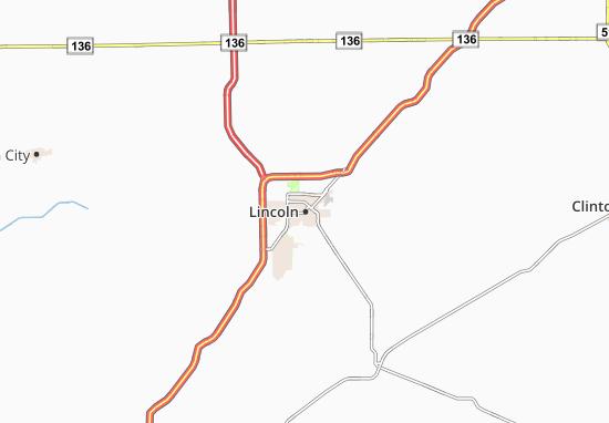 Mapa Plano Lincoln
