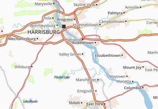 Mapas-Planos Valley Green