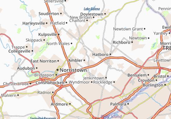 Ambler Map