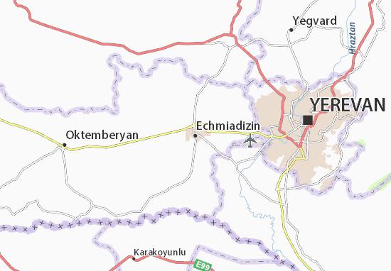 Carte-Plan Echmiadizin