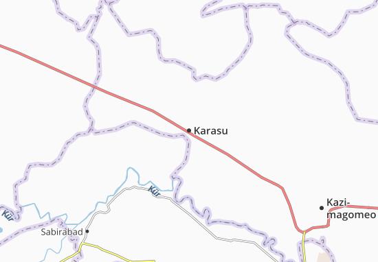 Kaart Plattegrond Karasu