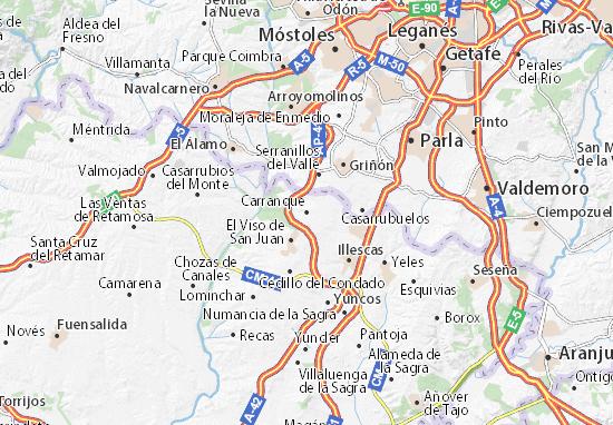 Mappe-Piantine Carranque