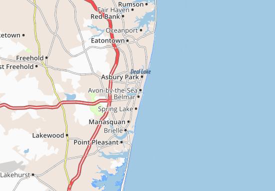Belmar Map