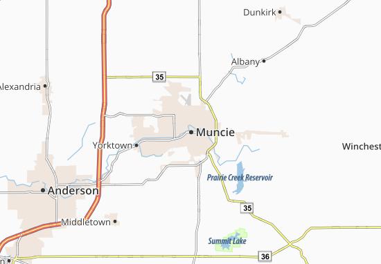 Muncie Map