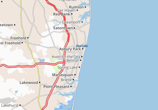 Neptune City Map