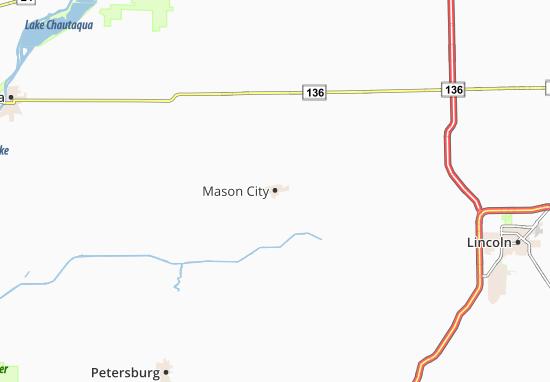 Mapa Plano Mason City