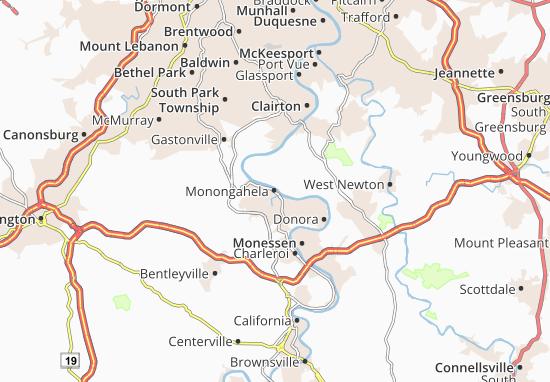 Monongahela Map