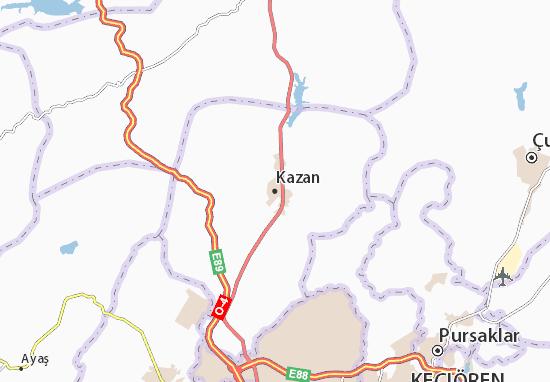 Carte-Plan Kazan