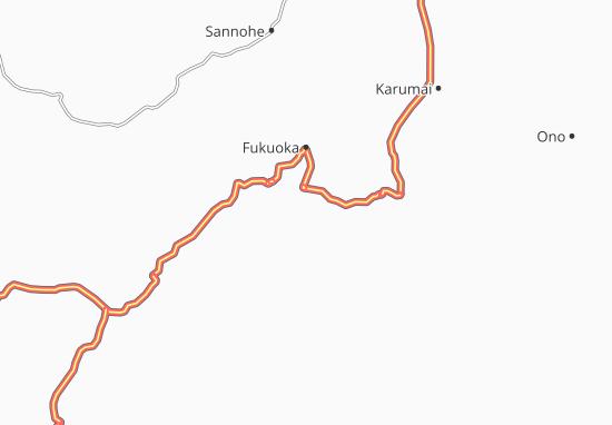 Ichinohe Map