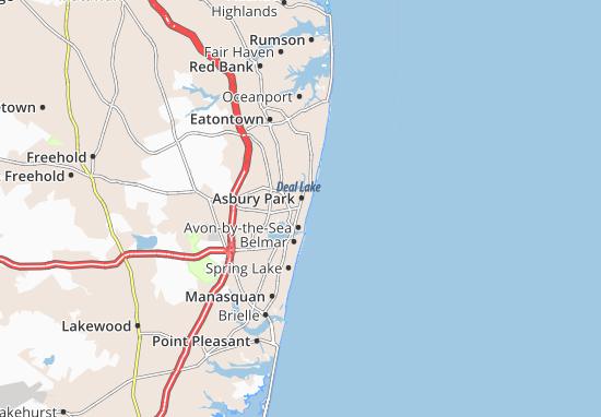 Ocean Grove Map