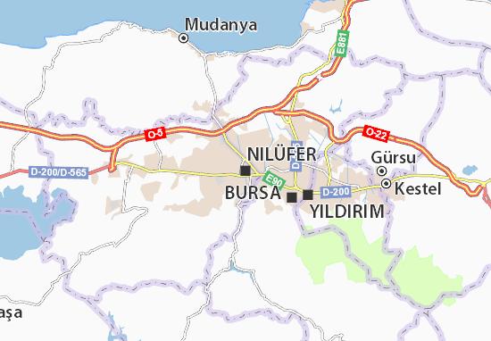 Mapa Plano Nilüfer