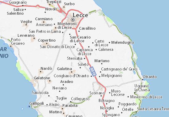 Sternatia Map