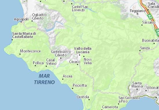 Mappa vallo della lucania cartina vallo della lucania - Agenzie immobiliari vallo della lucania ...