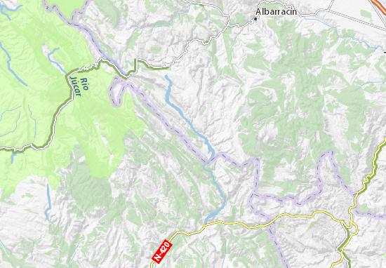 El Vallecillo Teruel Mapa.Mapa El Vallecillo Plano El Vallecillo Viamichelin