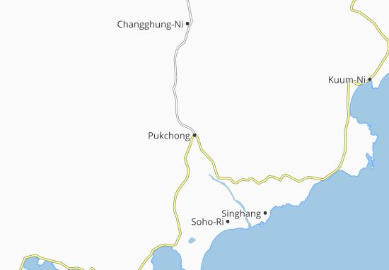 Pukchong Map