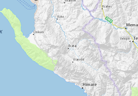 Brataj Map