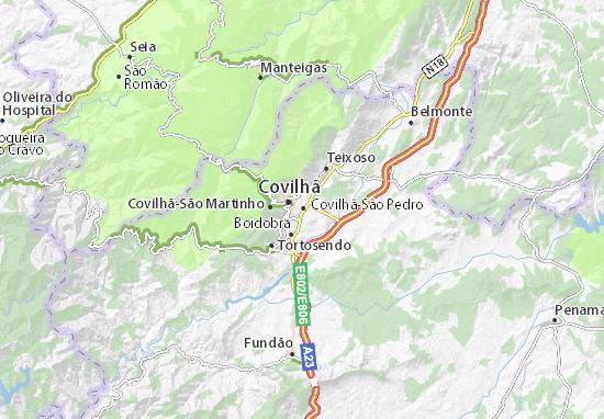 Covilhã-São Pedro Map