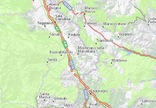 Mappe-Piantine Montesano sulla Marcellana