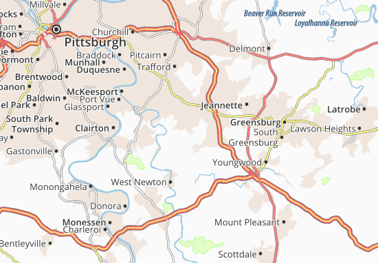 Rillton Map