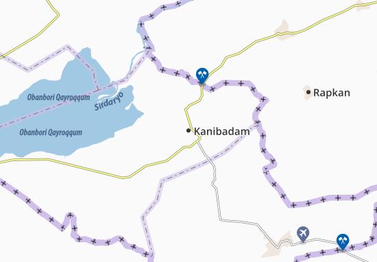 Mapa Plano Kanibadam