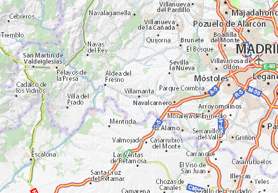 Villamanta Map