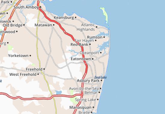 Tinton Falls Map