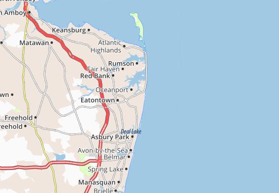 Long Branch Map