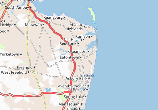 Eatontown Map